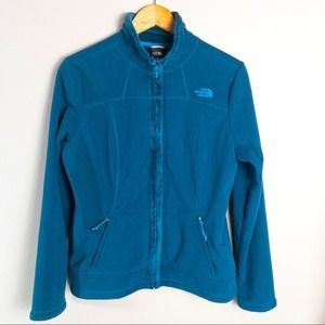 The North Face Zip Up Jacket Teal